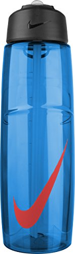 NIKE T1 FLOW SWOOSH WATER BOTTLE (32oz, GAME ROYAL/LT CRIMSON) (Nike Flow Water Bottle compare prices)
