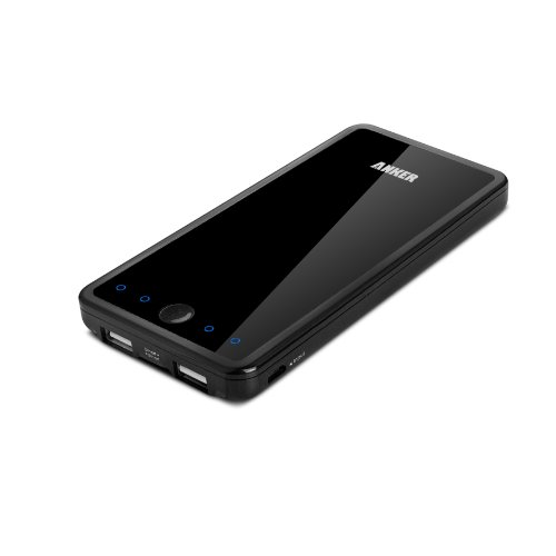 Anker Astro E3 第2世代 10000mAh 大容量モバイルバッテリー  スマートポート搭載 iPhone5S、5C、5、4S/iPad Air/iPad Mini Retina/iPad Mini/iPad/iPod/Galaxy/Xperia/ASUS/Android/各種スマホ wifiルータ等USB機器に対応 日本語説明書付き