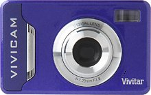 Vivitar Vivicam V7020 7.1 Megapixel Digital Camera - PURPLE