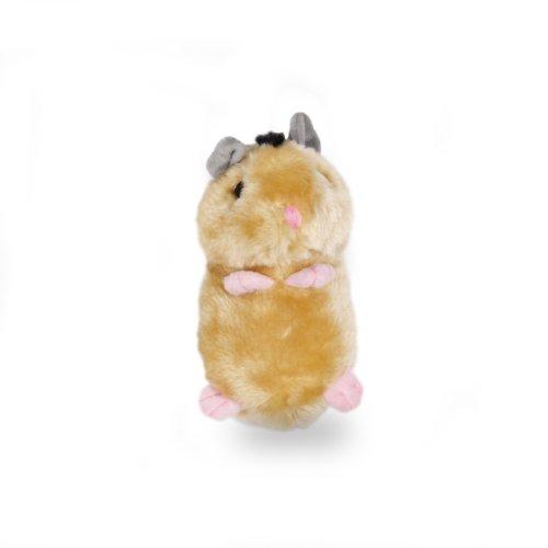 Krislin Plush Hamster Toy, 6-1/2-Inch - 1
