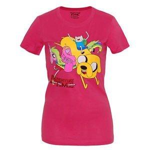 Adventure Time - Camicia -  donna rosa XL