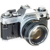 Canon AE-1 35mm Camera w/ Extra Lenses and Accessories