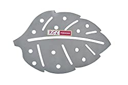 KCL SS Leaf Shape Hot Pot Stand Matte Trivet