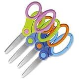 Westcott E-26005 00 5 inch Microban School Scissor - Assorted Colours