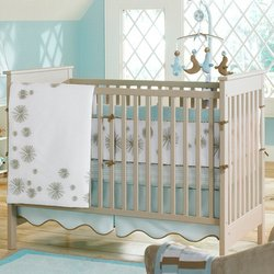 MiGi Pinwheel 6 Piece Crib Bedding Set