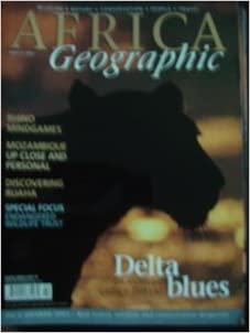 AFRICA Geographic - March 2004 - Rhinos - Mozambique - Ruaha - Wildlife - Nature - Conservation - People - Travel