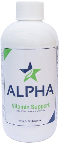 Alpha Liquid Vitamin Health Support 8.45 Fl Oz. - All Natural