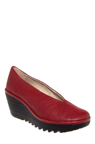 Fly London Yaz Mid Wedge Shoe