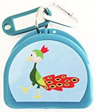Cute Fun Mouthguard Case for Mouth Guard Retainer or Dental Called Birdie