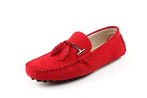Minitoo - Sandali  uomo , Rosso (rosso), 40