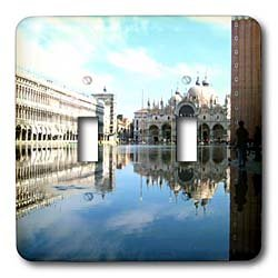 Vacation Spots - Piazza San Marco Venezia Italy - Light Switch Covers - double toggle switch