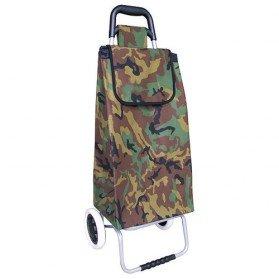 Poussette de march golf 2 roues camouflage chariots - Chariot de course auchan ...