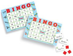 BINGO MULTIPLICATION AGES 5 & UP - 1