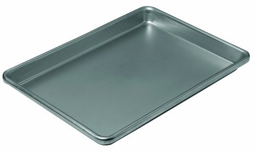 Chicago Metallic 16011 12-1/4 by 8-3/4 by 1-Inch Non-Stick Small Jelly Roll Pan