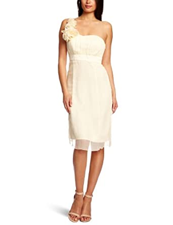 Fever - Robe - Femme - Blanc (Ivory) - FR : 34 (Taille fabricant : 6)