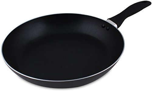 Induction Bottom Aluminum Nonstick Frying-Pan Grey Fry Pan - 11 inches Dishwasher Safe Cookware - by Utopia Kitchen (11 Frying Pan compare prices)