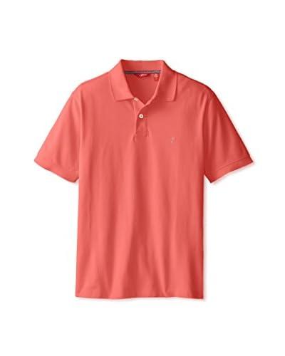 IZOD Men's Short Sleeve Heritage Pique Polo