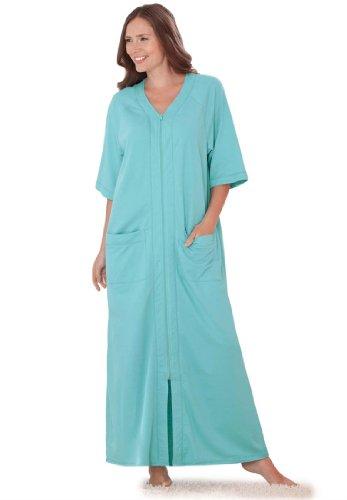 Мечты & Co женщин's Plus Size длинный халат,…