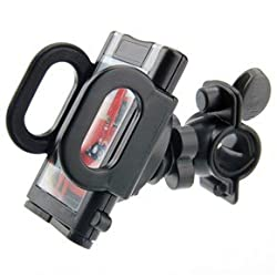 Unique Gadget Bicycle Bike Mount Mobile Holder 360 Rotate Stand