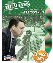 All Access Hockey Practice with Tim Coghlin (DVD) by Championship Productions