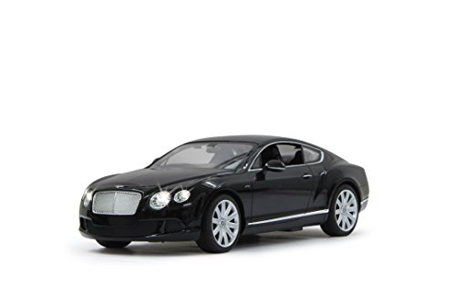 Jamara 404510 - Bentley Continental GT speed Veicolo, Scala 1:14, Nero