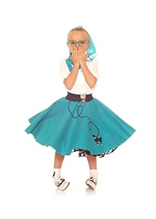 amazon   hip hop 50s shop child 3 piece poodle skirt
