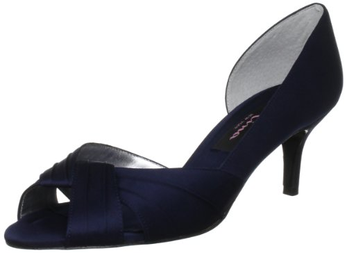 Nina Women's Culver Bridal Pump,New Navy,7 M US