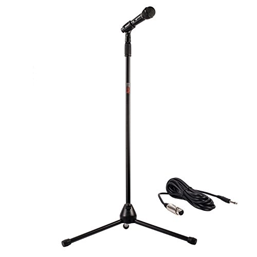 how to make a microphone stand
