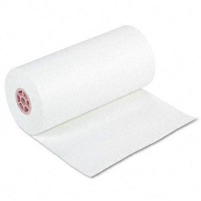 Pacon 5618 Kraft Paper Roll, 40-lb. White Kraft, 18