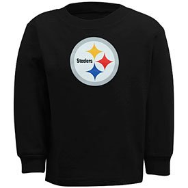 T Steelers Infant Primary Logo L/S