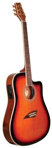 kona guitars k2sb acoustic electric dreadnought cutaway guitar in tobacco sunburst finish. Black Bedroom Furniture Sets. Home Design Ideas