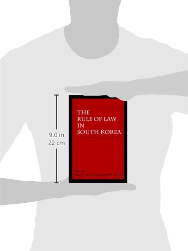 The Rule of Law in South Korea (Hoover Institution Press Publication)