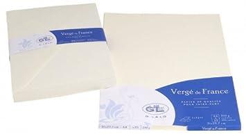 g lalo papier cartonn 50 feuilles feuilles a4 rain verg 210 g 29 8 29 8 x 21 x 2 ivoire. Black Bedroom Furniture Sets. Home Design Ideas