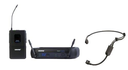 Shure Pgxd14/Pga31 Pgx-D Digital Headworn Wireless System With Pga31 Headset Microphone