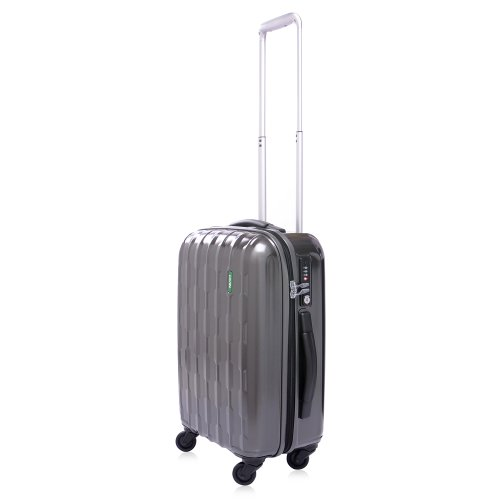 Lojel Arrowhead Polycarbonate 19.5-Inch Upright Spinner Luggage, Grey, One Size