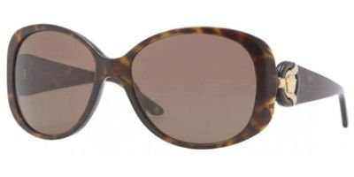 Versace VE4221 Sunglasses - 108/73 Havana (Brown