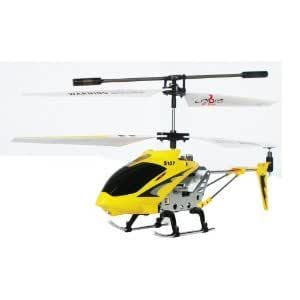 Cobra X Limited Edition 3 Channel Metal Body Mini Helicopter with Gyro (Colors May Vary)