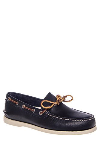 Men's A/O Eye Leather Boat Shoe