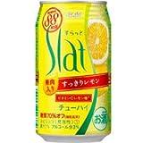 アサヒ Slat(すらっと) すっきりレモン 350ML × 24缶