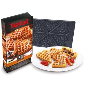 tefal xa8006 snack collection platte herzwaffeln nummer 6 db587. Black Bedroom Furniture Sets. Home Design Ideas