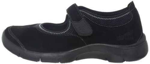 thumbnails of Dansko Women's Edda Oxford,Black Suede,36 EU/5.5-6 M US
