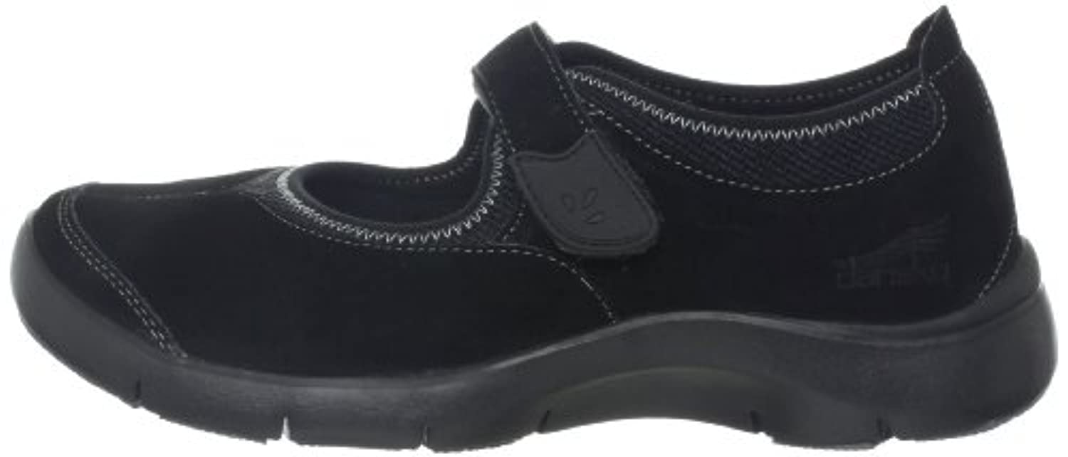 Dansko Women's Edda Oxford,Black Suede,36 EU/5.5-6 M US