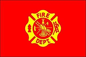 Fire Department 3ft x 5ft Nylon flag