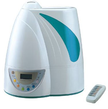 Image of Deluxe Ultrasonic Humidifier + Ionizer Air Purifier (UH-602)