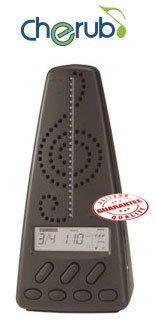 Cherub Intel Metronome Tuner Black