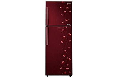 Samsung RT29JAMSERZ Frost-free Double-door Refrigerator (275 Ltrs, 4 Star Rating, Tender Lily Red)