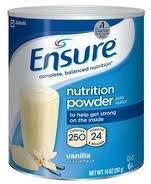 Ross Ensure Powder Complete Powder Balanced Nutrition Vanilla 14 Oz Case of 6 Model 00750