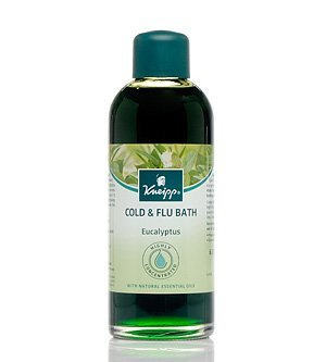 Kneipp HERBAL BATH With Natural Essential Oils EUCALYPTUS Cold & Sinus Relief 200ml