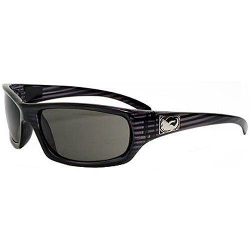 Dragon Sunglasses Chrome Medium Fit Eyewear - Dragon Alliance Men's Racewear Shades - Color: Jet X-Ray/Grey, Size: One Size Fits All