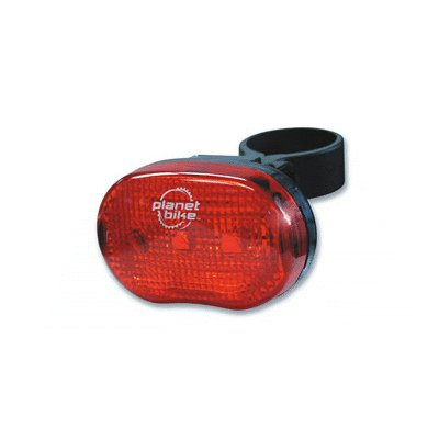 Planet Bike Blinky 3 - 3 LED Bicycle Tail Light - 3009